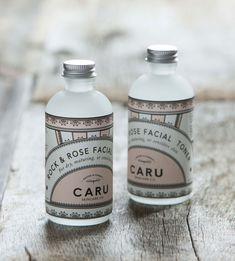Unique Packaging Design on the Internet, Caru Skin Care Co. #packaging #packagingdesign #design