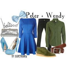"Peter and Wendy. (Side note, how come so many people think ""Peter Pan"" is about Peter, not Wendy?)"