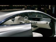 Mercedes S-Class Coupe Concept INTERIOR - YouTube