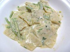 Ricetta Portata principale : Maltagliati con zucchine e crema di salmone da Nick19