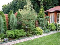 New garden vegetable design front yards 44 ideas - Modern Privacy Landscaping, Backyard Privacy, Backyard Fences, Modern Landscaping, Front Yard Landscaping, Diy Fence, Fence Ideas, Landscaping Ideas, Landscaping Edging