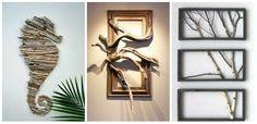 15 idei de design interior folosind ramuri de copaci