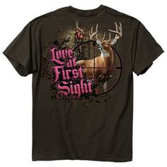 "(trendy-new-womens-hunting-tees,""love-at-first-sight…"