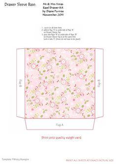 Easel Drawer Kits - Diane Furniss - Picasa Web Albums