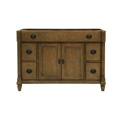 """View the Sagehill Designs RP4821D 48"""" Vanity Cabinet with 2 Doors and 4 Drawers from the Regency Place Collection at Build.com."""