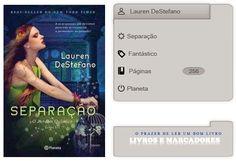 Livros e marcadores: Separação de Lauren DeStefano