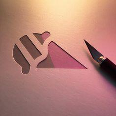Kiki Bakowski | Die-Cut | Ice Cream Cone Logo