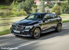 Mercedes-Benz GLC43 AMG 4Matic Coupe 2017 poster, #poster, #mousepad