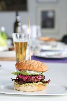 Grillad kalkonburgare Cobb Style - Uplifting - allt om god mat - recept, tips, restauranger, dryck