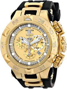 7aa393ebefe Invicta Men s 15926 Subaqua Analog Display Swiss Quartz Black Watch Cool  Watches