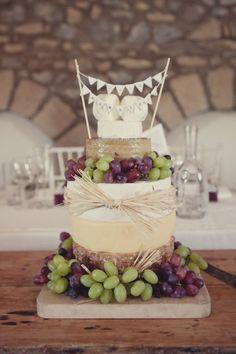 cheese wedding cake http://www.lissaalexandraphotography.com/