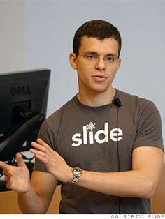 Max Levchin. Co-founder of PayPal. Ukraine-born computer scientist and entrepreneur, he moved to the United States with his family, under a political asylum, and settled in Chicago, Illinois in 1991. PayPal Inc. went public in February 2002, and was subsequently acquired by eBay. In 2004, Levchin founded Slide, a personal media-sharing service for social networking sites such as MySpace and Facebook. Slide was sold to Google in August 2010 for $182 Million.