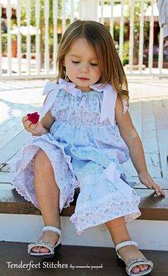 Girl's Boutique Fancy Ruffle Pants clothing von TenderfeetStitches