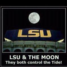 LSU over Tide