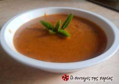 """Κόκκινες φακές σε σούπα, μία """"άγνωστη"""" νοστιμιά!!! συνταγή από ggr - Cookpad Greek Beauty, Recipe Images, Greek Recipes, Thai Red Curry, Cantaloupe, Side Dishes, Recipies, Food And Drink, Pudding"""