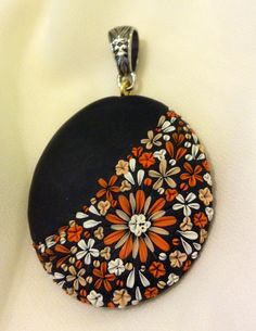 Polymer Clay Halloween Color Pendant Head by Cherrychestnuts, $20.00
