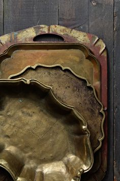 Brass Platters Gourmande in the Kitchen Finding Props for Food Photography with Naomi Robinson