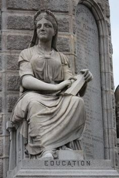 Education, Forefathers monument, Plymouth, Ma