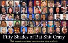 Fifty Shades of Bat Shit Crazy