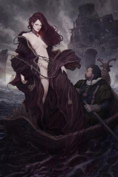 Melisandre, an art print by Ed Ko