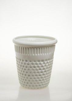 InDito vaso bianco Ceramica