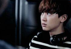 "Starcast 150406 : ""EXO Next Door"" BTS ~~ of course chanyeol cant even keep a straight face xD Baekhyun Chanyeol, Exo Kai, Baekyeol, Chanbaek, Exo Next Door, Wattpad, K Pop, Super Junior, Fanfiction"