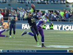 Percy Harvin 1st catch as Seahawk.