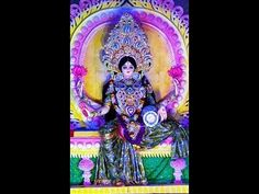 This year's immersion ceremony of Goddess Laxmi was very special because of discipline nature.