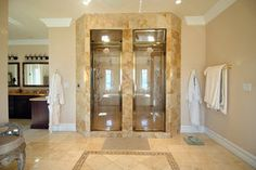 his and hers showers