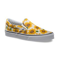 VANS Sunflower Slip-On | Vans strives to reduce its environmental impact through its Green Sole operations program in two key areas: energy and waste.