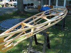 Chuckanut 15 skin on frame kayak