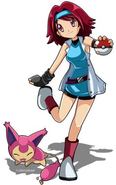 Mandy is from the Hoenn region but becomes Azami's rival