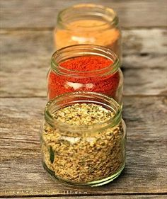 DIY Making Your Own Spice Mixtures (She lists 16 different spice blends that she makes from regular spices you get at the store.  The rubs look good!)