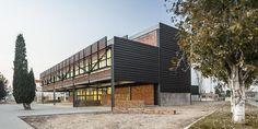 Diseño de fachadas Sistema Masa. Escuela de Arte y diseño de Amposta.