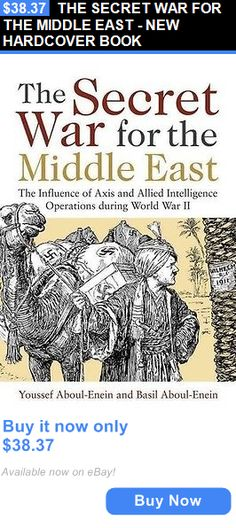 cookbooks: The Secret War For The Middle East - New Hardcover Book BUY IT NOW ONLY: $38.37