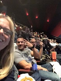 Getting ready! #starwars — at Brenden Theatres and IMAX at the Palms