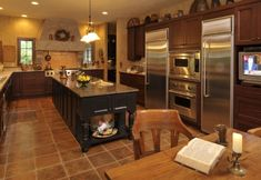 country kitchen with furniture details