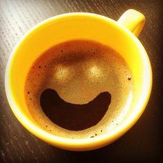 Enjoying an organic coffee with a smile.  #instagood #instadaily #instacoffee #awesome #organic #coffee #latteart #good #food #vegan #enjoying #life #happy #smile #photo #kaffee #foto #glücklich