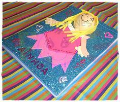 creaciones FOG: Libreta princesa goma eva