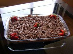 Receita de Torta de chocolate super fácil - Tudo Gostoso