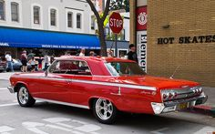 1962 Chevrolet Impala SS coupe - Roman Red
