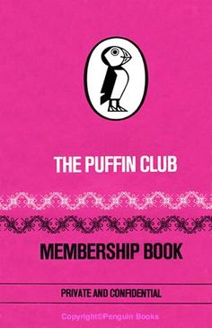 Puffin Club membership book. I had one of these