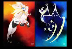 Pokemon Sun and Moon by TheMeltingMoon.deviantart.com on @DeviantArt