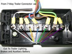 wiring diagram for semi plug - Google Search | Stuff ...