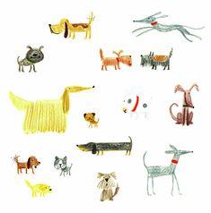 Dog Doodles by Stella Baggott