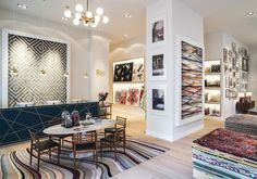 The Rug Company's new showroom in Munich, Germany