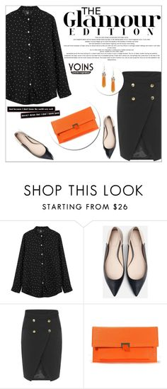 """""""Yoins"""" by nejra-l ❤ liked on Polyvore featuring Zara, women's clothing, women's fashion, women, female, woman, misses, juniors and yoins"""