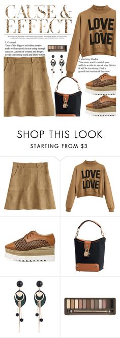 """""""Love and Love"""" by anarita11 ❤ liked on Polyvore featuring Envi: and Urban Decay"""