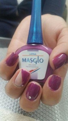 Masglo_oficial Swatch, Nail Designs, Nail Polish, Make Up, Nail Art, Nails, Drink, Beauty, Food