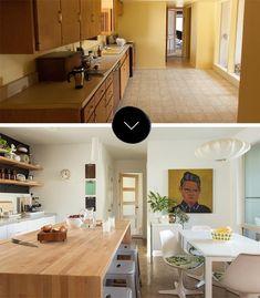Antes & Después: Remodelación de una cocina